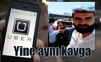 Atatürk Havalimanı'nda UBER'ci taksici kavgası