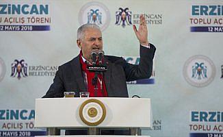 Başbakan Yıldırım: Cumhur İttifakı'nın hedefi milletin bekasıdır