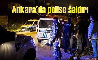 Başkentte polise silahlı saldırı