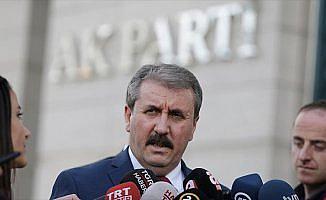 BBP Genel Başkanı Mustafa Destici: Fitne ateşi yakmaya çalışanların çabaları beyhude
