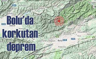 Bolu'da Deprem Oldu; Bolu 3.9 ile sallandı