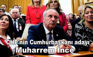 CHP'nin Cumhurbaşkanı adayı, Muharrem İnce