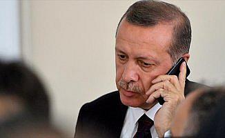 Cumhurbaşkanı Erdoğan, Mukteda Es-Sadr'ı telefonla arayarak tebrik etti