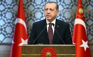 Cumhurbaşkanı Erdoğan: Netanyahu'nun elinde Filistinlilerin kanı vardır
