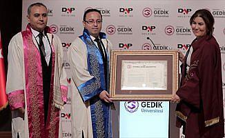 DAP Holding Yönetim Kurulu Başkanına fahri doktora