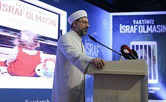 Diyanetin ramazan ayı teması 'İsraf Olmasın'