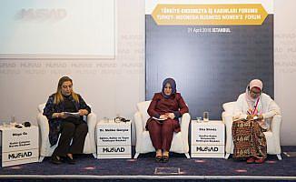 Endonezyalı ve Türk iş kadınları MÜSİAD'da buluştu