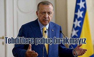 Erdoğan'a suikast iddiası; Bu tür tehditlerle yolumuzdan dönmeyiz