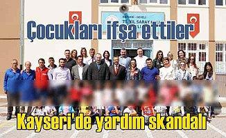 EWE Türkiye'nin yardım skandalı: Kıyafet verilen çocuklar teşhir edildi