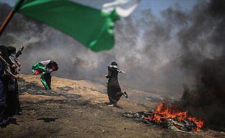 Gazze'de şehit edilen Filistinli sayısı 60'a yükseldi