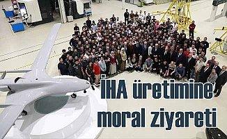 İHA üretimine moral ziyareti: Baykar Başbakan'ı ağırladı