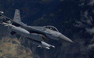Irak'ın kuzeyinde teröristlere ait 6 hedef imha edildi