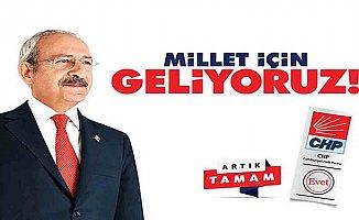 İşte CHP'nin seçim sloğanıve logosu