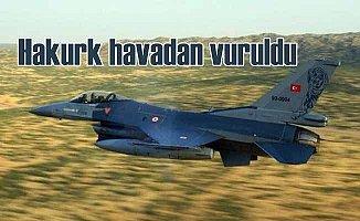 Kuzey Irak'a hava operasyonu: Hakurk'ta PKK hedefleri vuruldu