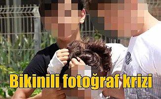 Liseli kıza bikinili fotoğrafla şantaj girişimi