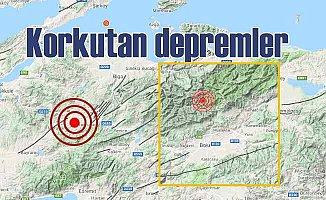 Marmara ve Ege bölgelerinde korkutan depremler