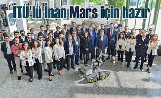 "Mars Kaşifi ""İnan"" ABD Yolcusu"