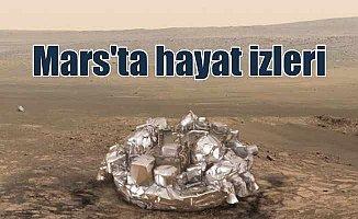 Mars'ta hayat izleri: 4 milyar yıl önce hayat varmış
