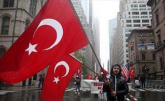 New York'ta 37.Türk Günü Yürüyüşü gerçekleştirildi