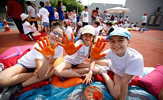 Okul Dışarıda Günü'nde 470 Bin Çocuk Derslerini Açık Havada Yaptı