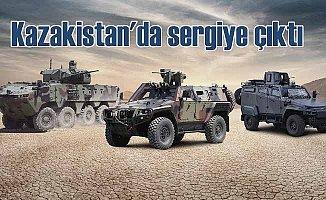 Otokar Kazakistan'da 3 aracını sergileyecek