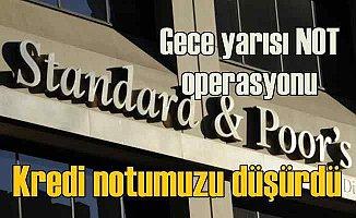 Türkiye'nin kredi notuna gece yarısı operasyonu