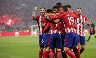 UEFA Avrupa Ligi şampiyonu Atletico Madrid