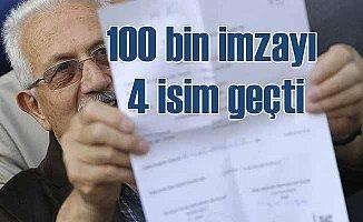 YSK açıkladı: 100 bin imzayı alan adaylar belli oldu