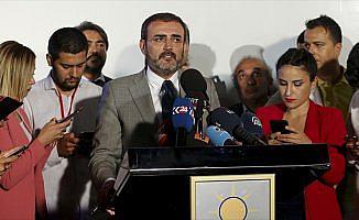 AK Parti Sözcüsü Ünal: Anadolu Ajansının hedefe konularak tehdit edilmesi kabul edilemez