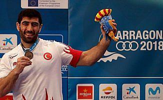 Akdeniz Oyunları'nda minderin hakimi Türkiye