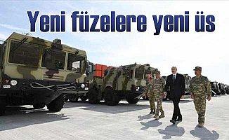 Azerbaycan'da uzun menzilli füzeler için yeni kışla