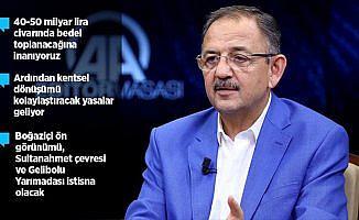 Bakan Özhaseki 'imar barışı'nın detaylarını açıkladı