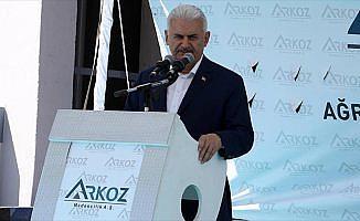 Başbakan Yıldırım: Fırat'ın batısından Akdeniz'e kadar terörü yok ettik