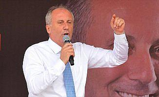 CHP'nin cumhurbaşkanı adayı İnce: Çocuklara Türkçeyi ve evinde konuştuğu dili öğreteceğiz