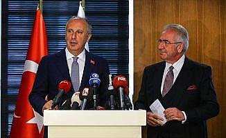CHP'nin cumhurbaşkanı adayı İnce'den TÜSİAD'a ziyaret