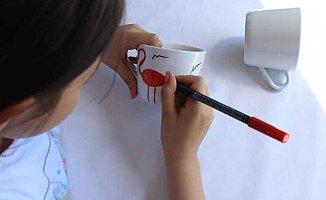 Çocukların hayalleriyle süslenen kupalar ünlülere gidecek