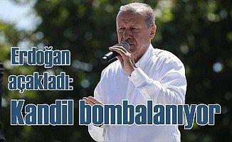 Cumhurbaşkanı Erdoğan: Kandil'i bombalıyoruz,