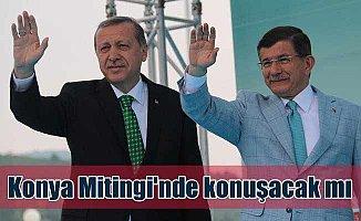 Davutoğlu Konya Mitingi'ne neden davet edilmedi!