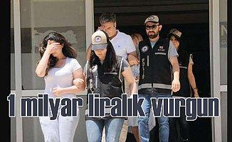Diyarbakır'da 1 milyarlık vurgun çetesi çökertildi
