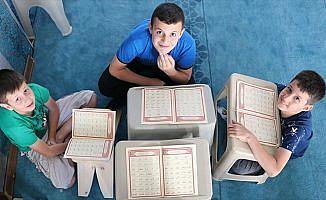 Doğu'da camiler çocuk sesleriyle şenlendi