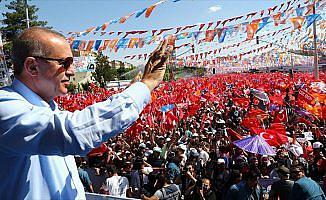 Erdoğan'ın yoğun seçim mesaisi