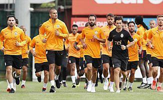 Galatasaray'da oyuncular testten geçti