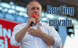 İnce'den Erdoğan'a 'Reyting' cevabı: Hava durumu bile