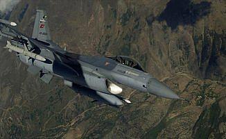 Irak kuzeyindeki terör hedefleri imha edildi