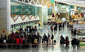 İstanbul 5 aylık yolcuda 161 ülkenin nüfusunu geçti