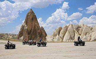 Kapadokya turizmine bayram dopingi
