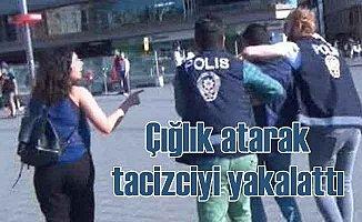 Metro'da taciz; Kadının çığlığı tacizciyi yakalattı