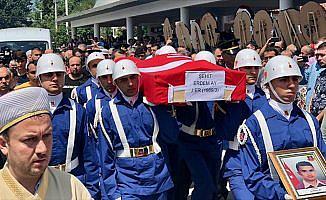 Şehit Jandarma Er Ay son yolculuğuna uğurlandı