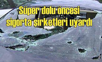 Süper dolu yağışı: İstanbul'da ceviz büyüklüğünde dolu alarmı