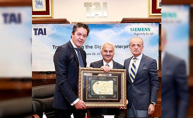 TAI dijital dönüşümde Siemens'i tercih etti